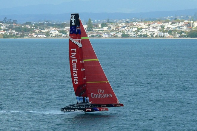 AC 72 Team New Zealand